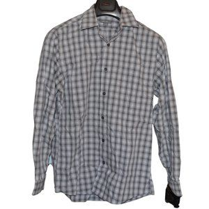 Eddie Bauer Wrinkle Free Relaxed Fit Button Down
